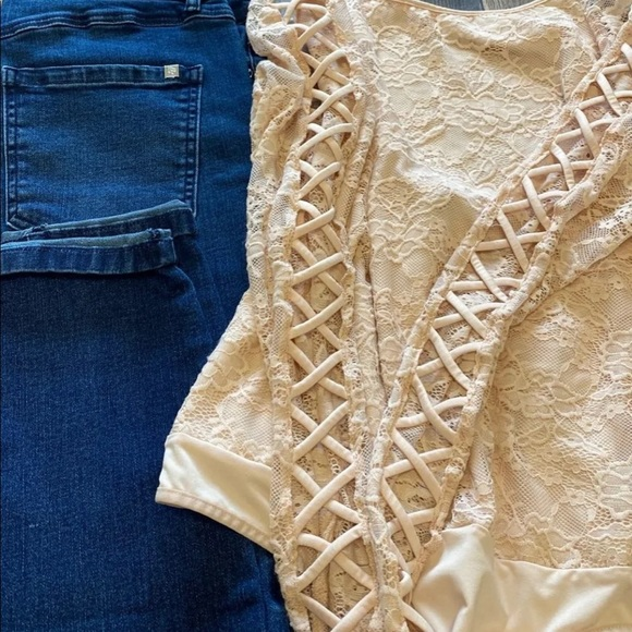 Bundle for jeans and body suit
